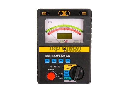 RT2000系列智能双显绝缘电阻测试仪