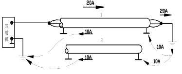 两根电缆的差值场