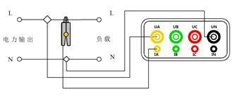 单相电接线方式